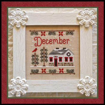 Cottage of the Month-December by Country Cottage Needlework