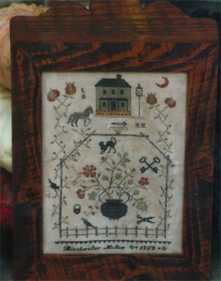 Blackwater Hollow Sampler by Stacy Nash Primitives