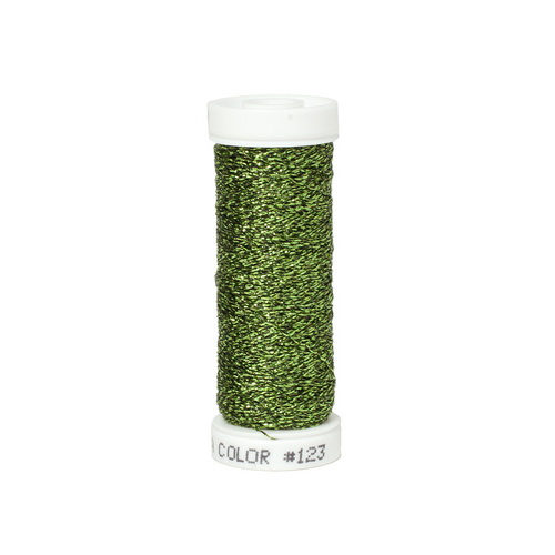 Accentuate Metallic Thread - 123 Digital Green