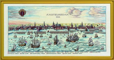 Amsterdam by Eva Rosenstand