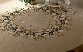 Daisy Tablecloth by Eva Rosenstand