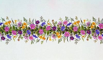 Eva Rosenstand Petunia Table runner