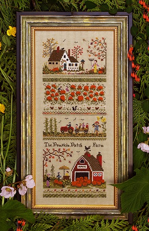 Pumpkin Patch Farm by The Victoria Sampler