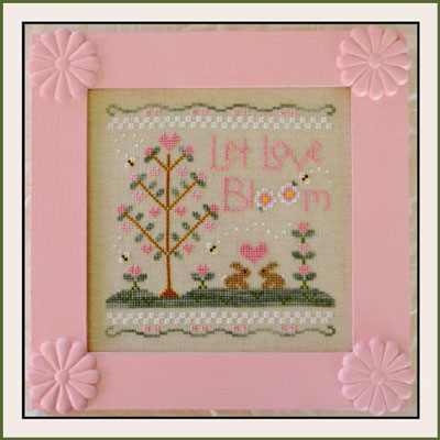 Let Love bloom by Country Cottage Needleworks