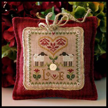 Love by Little house of Needlework