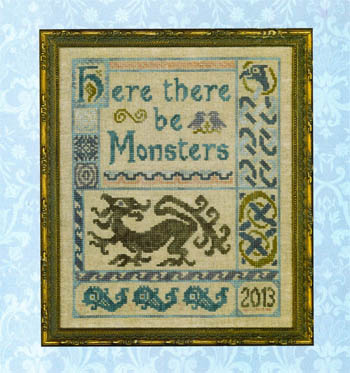Elizabeth's Designs Needlework Antique Celtic Sampler