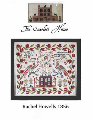 The Scarlet House Rachel Howells 1856