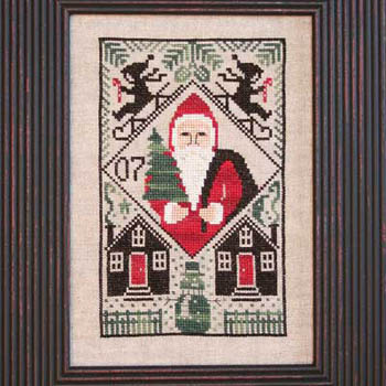 The Prairie Schooler 2007 Limited Edition Santa