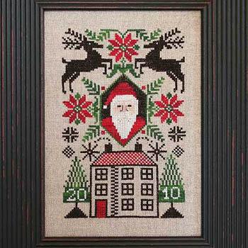 The Prairie Schooler 2010 Limited Edition Santa