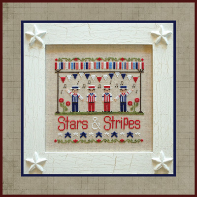 Stars and stripes by Country Cottage Needleworks