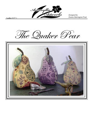 The Quaker Pear by Amaryllis Artworks
