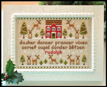 Country Cottage Needleworks Reindeer games