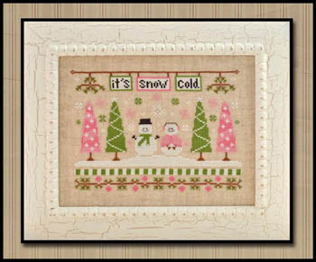 It's snow cold by Country cottage Needleworks