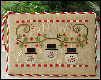 Snowmen trio by Country Cottage Needleworks