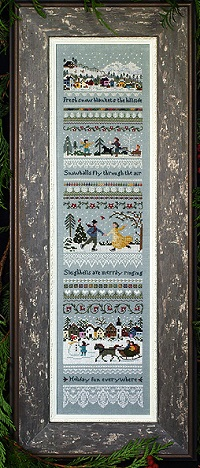 Winter Holiday Sampler by The Victoria Sampler