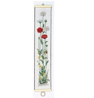 Poppy bellpull by Eva Rosenstand