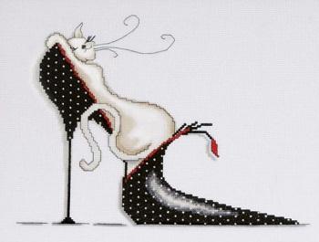 Polka dot shoe by Design Works