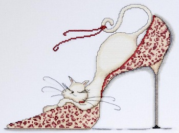 Leopard Shoe cat by Design Works