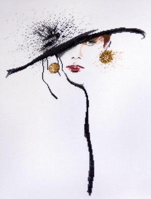 Black Hat (Green Eyes) by Design Works