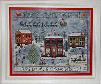Carols On The Square by Praiseworthy Stitches
