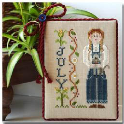 Calendar Girls-July by Little House of Needleworks