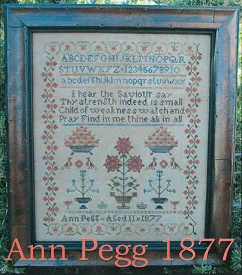 The Scarlet House Ann Pegg 1877