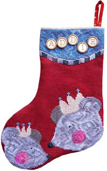 Not Even A Mouse Stocking by Samsarah Design Studio