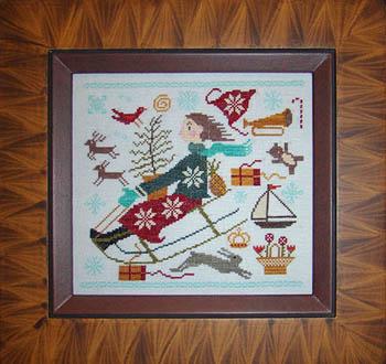 Christmas Joy Ride by Carriage House Samplings