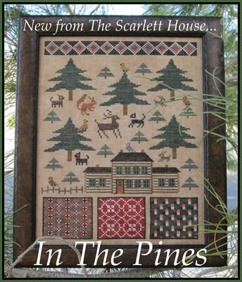 The Scarlet House In the pines