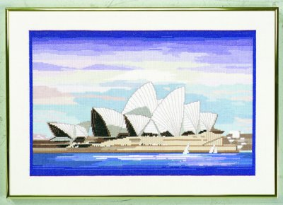 Sydney operahouse by Eva Rosenstand