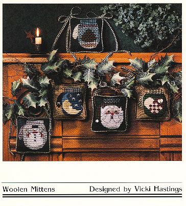 Cross-Eyed Cricket Woolen Mittens #143