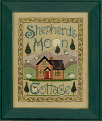 Elizabeth's Designs Needlework Shepherd's Moon Cottage