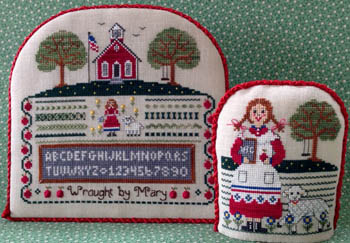 Mary's Schoolgirl Sampler by The Needle's Notion