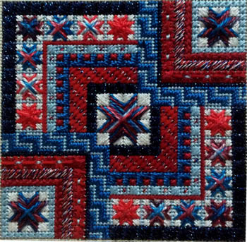 Color delights-Americana by Needle Delights Originals