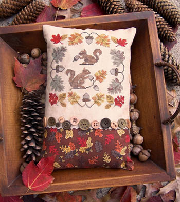 Gathering Acorns by Lila's Studio