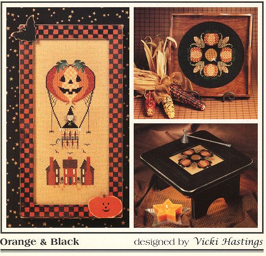 Cross-Eyed Cricket Orange and Black