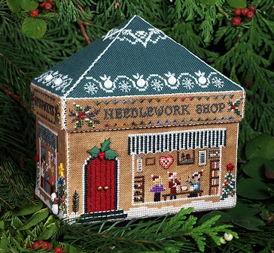 Gingerbread Needlework Shop by The Victoria Sampler