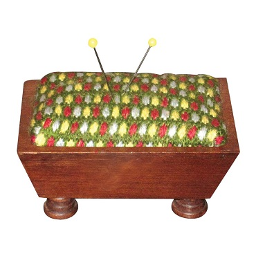 Mahogany Vintage Pincushion
