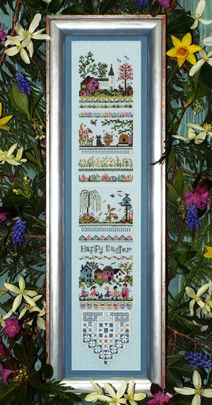 Easter Egg Hunt Sampler by The Victoria Sampler