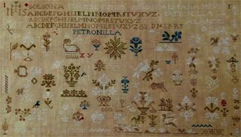 Patronilla Arandes 1834 by Needle WorkPress