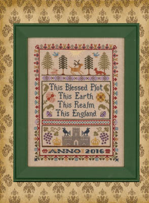 Elizabeth's Designs Needlework English Sampler