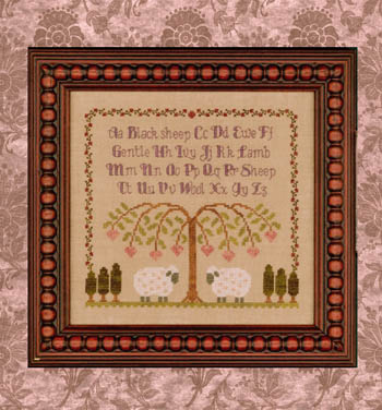 Elizabeth's Designs Needlework Gentle Lamb Sampler