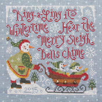 Silver Creek Samplers Merry Sleighbells