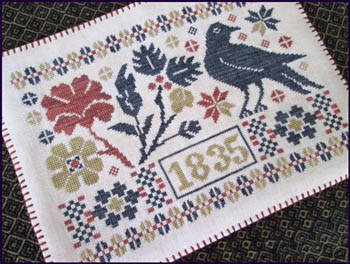 The Scarlet House Coverlet candle mat