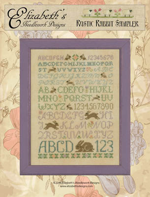 Elizabeth's Designs Needlework Rustic Rabbit Sampler