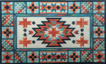 Turquoise Trail by Needle Delights Originals