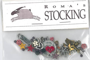 Charms -Roma's Stocking by Shepherd's Bush
