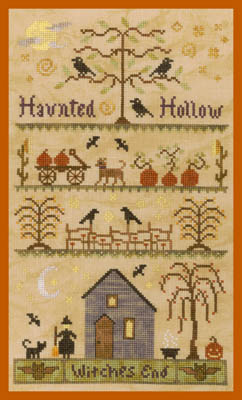 Elizabeth's Designs Needlework Haunted Hollow