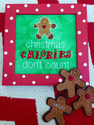 Christmas Calories by Amy Bruecken Designs