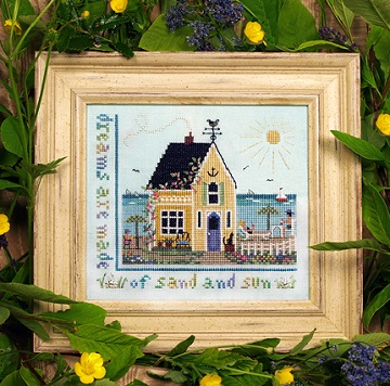 Beach Cottage by The Victoria Sampler